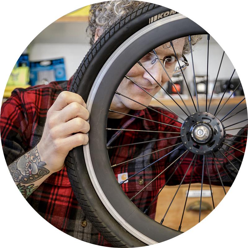 le ruote ciclocaffe