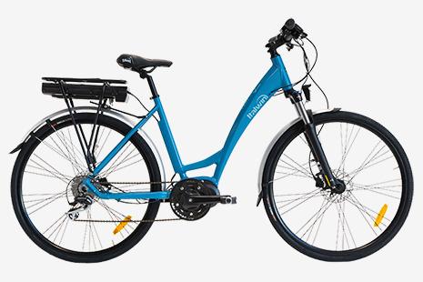 bicicletta pedalata assistita italwin