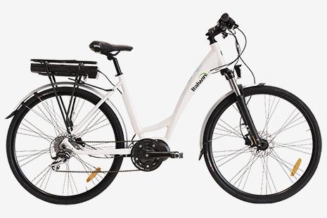 bicicletta pedalata assistita regolabile italwin